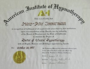 Hypnotherapy Doctoral Papers